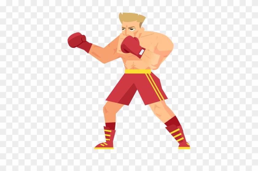 Rocky Balboa Clip Art - Cartoon #290304