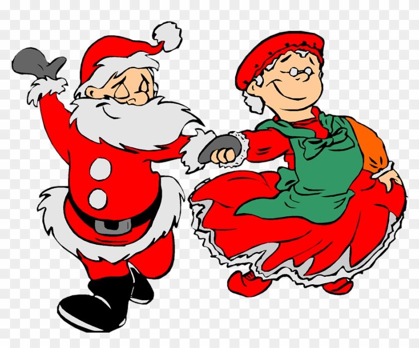 Christmas Elf Clipart 18, - Animated Dancing Santa Claus #290347