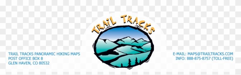 Trail Tracks Panoramic Hiking Maps - Hiking #290355
