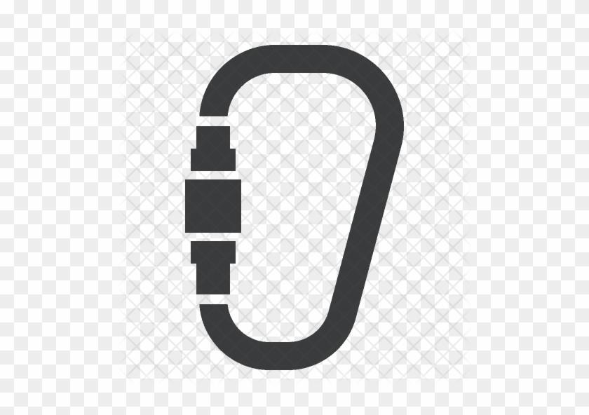 Carabiner Icon - Carabiner Climbing Clip Art #290393