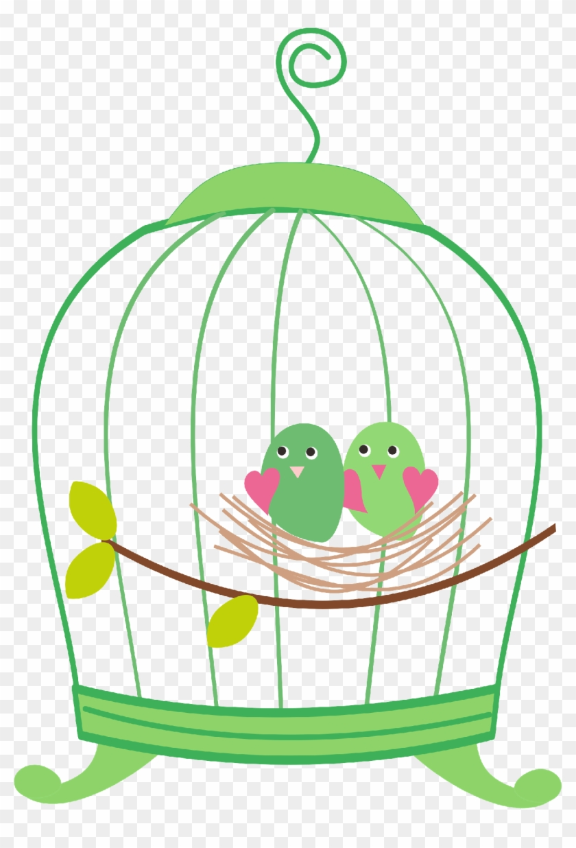 Birdcage8 - Bird On Cage Png #290406