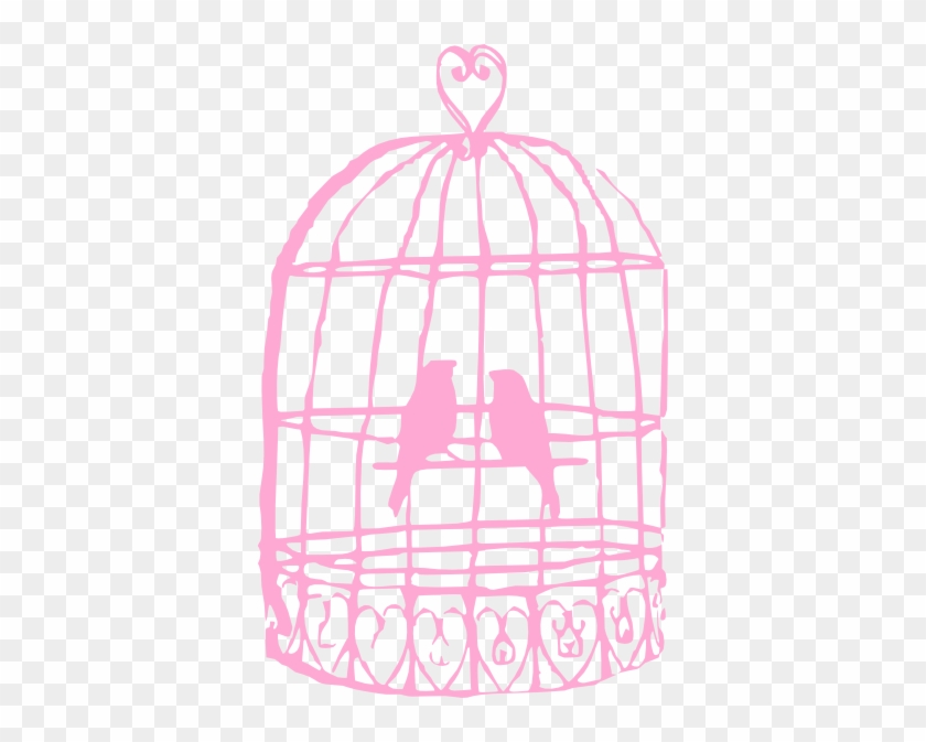 Birds In A Cage Drawing #290412