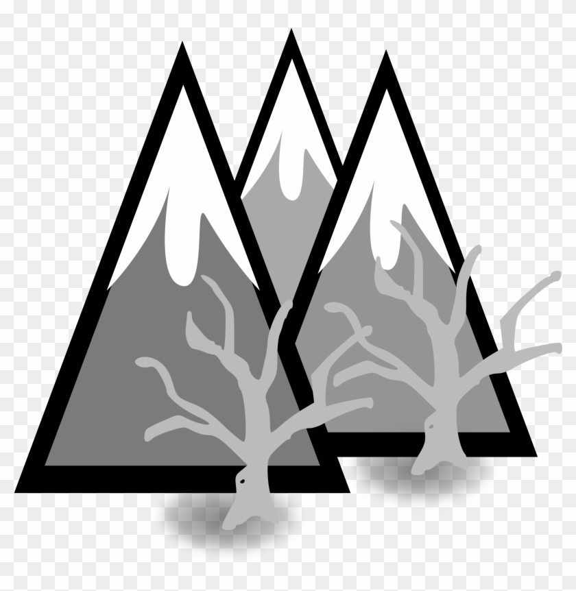 Forest Mountains - Icon #290424