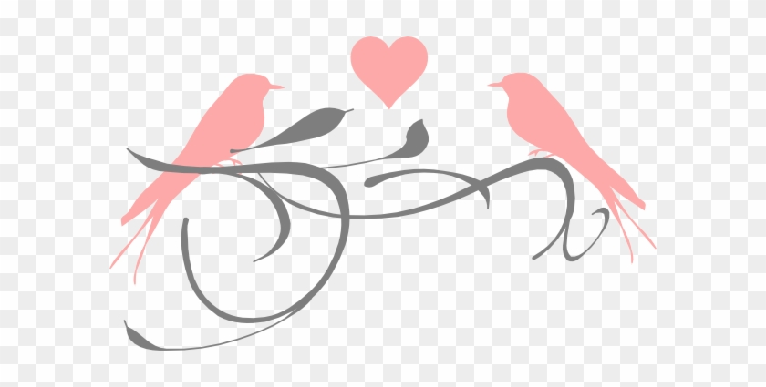 Clip Art Love Birds #290442