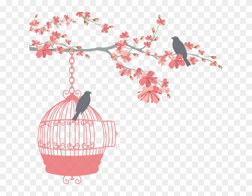 floral bird cage weight loss goal chart free transparent png