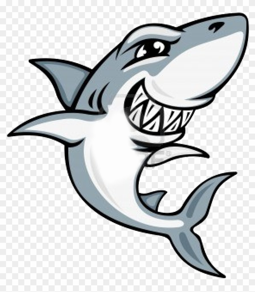 Cartoon Shark Mascot #290457