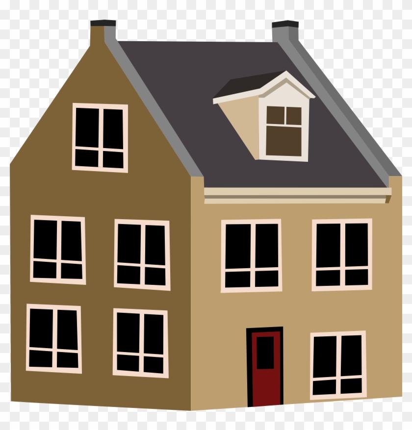 Larger Clipart House - House Clipart Transparent Background #290522
