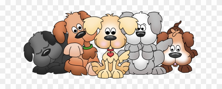 Puppies Cliparts - Group Of Dogs Clip Art #290529