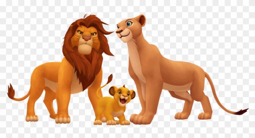 El Equipo De Animación Estuvo Una Temporada En África - Simba Nala And Kopa #290541