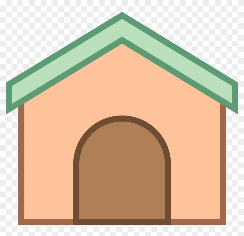 Free Dog House Clipart - Собачья Будка Пнг #290617