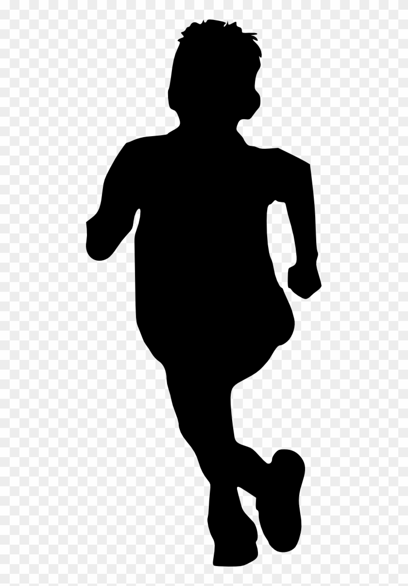 Free Download - Kids Png Silhouette #290728