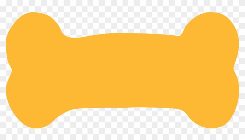 Dog Bone Orange Clip Art At Mzayat - Dog Bone Orange Clip Art At Mzayat #290743