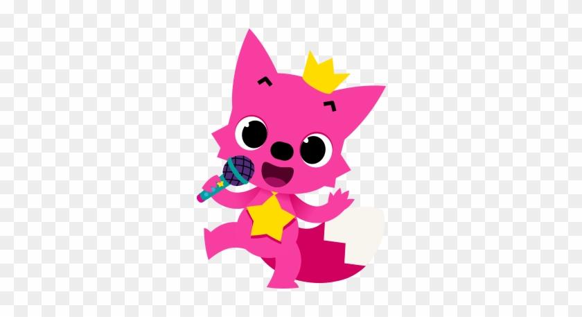 Singing Pinkfong - Pinkfong Baby Shark Png #290782