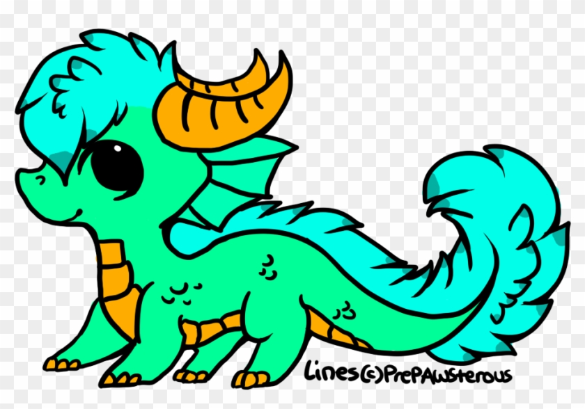 Cute Dragon For Sale By Shark-d0g On Clipart Library - Clip Art #290789
