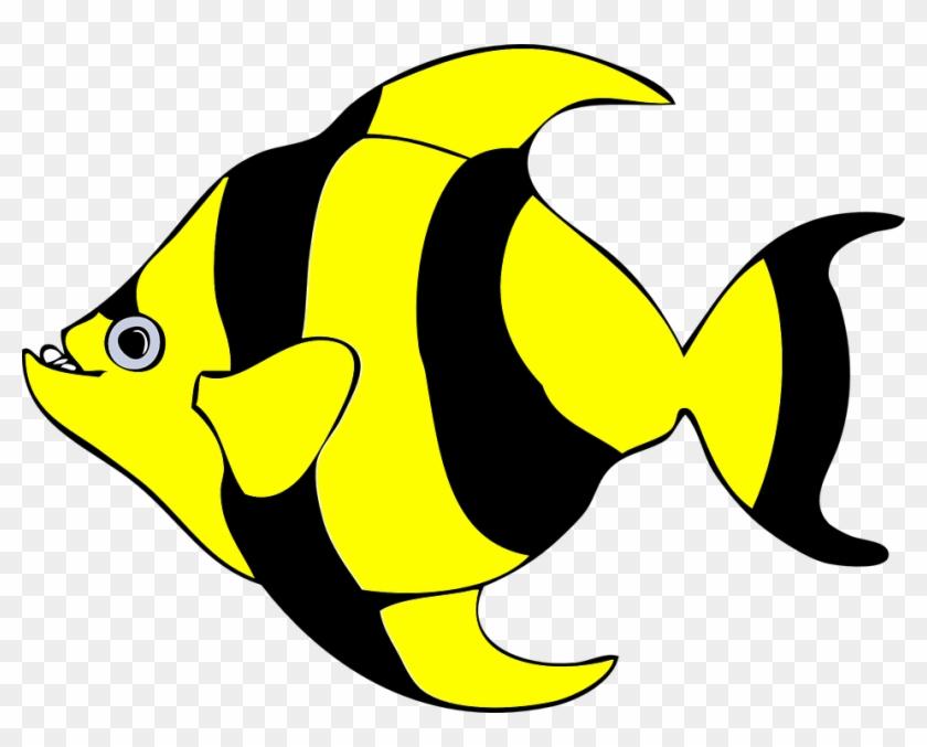 Hawaiian Fish Cliparts - Tropical Fish Shower Curtain #290866