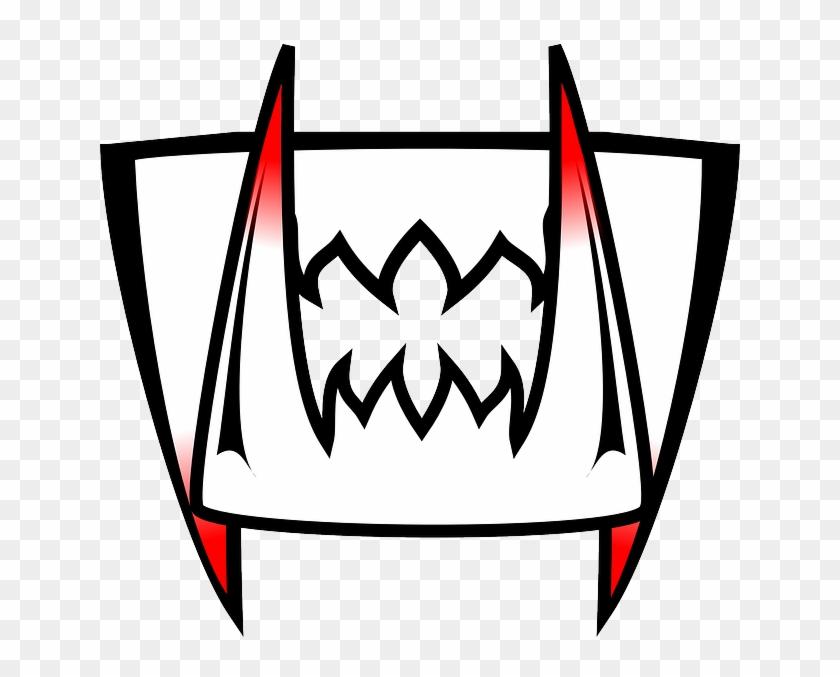 Cartoon, Mouth, Funny, Shark, Teeth, Vampire, Scary - Vampire Teeth Clipart #290904