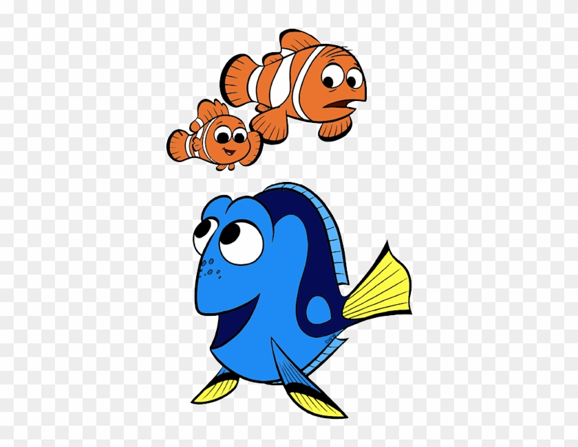 Finding Dory Clip Art Images - Nemo And Dory Clipart #290946