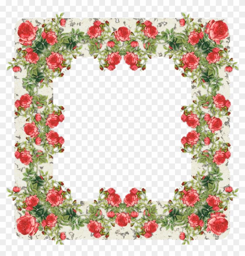 Rose Frame - Rose Frame #290951