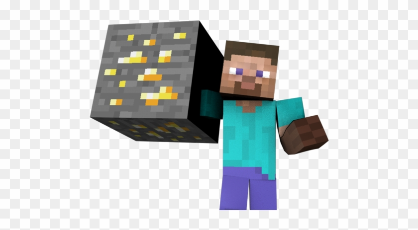 Minecraft Give Enchanted Pickaxe For Kids - Minecraft Steve Gif Png #290970