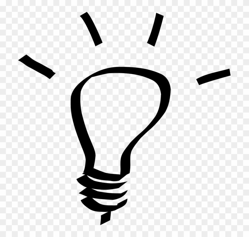 Idea Clipart Lampu Pencil And In Color Idea Clipart - Light Bulb Clip Art #290986