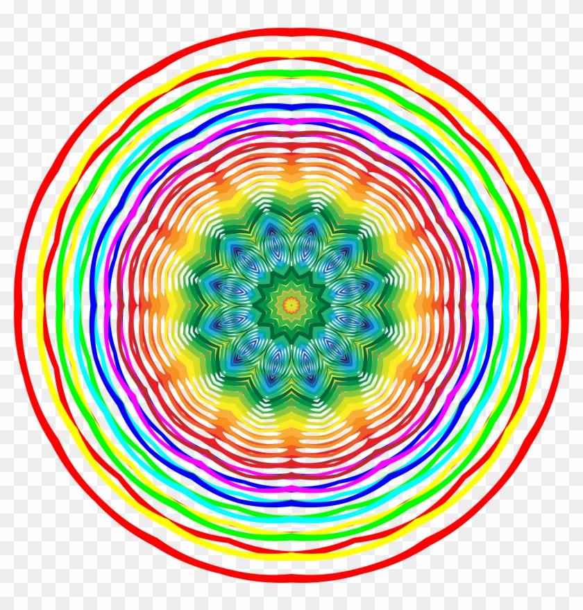 Colorburst Clipart - Circle #290994