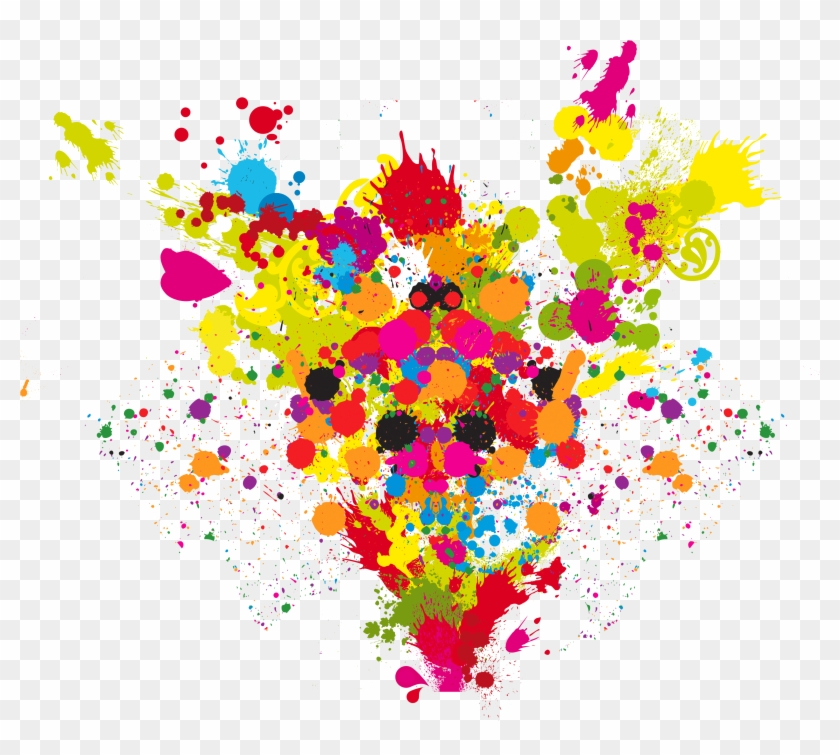 Painting Clipart Explosion - Colours Png #291001