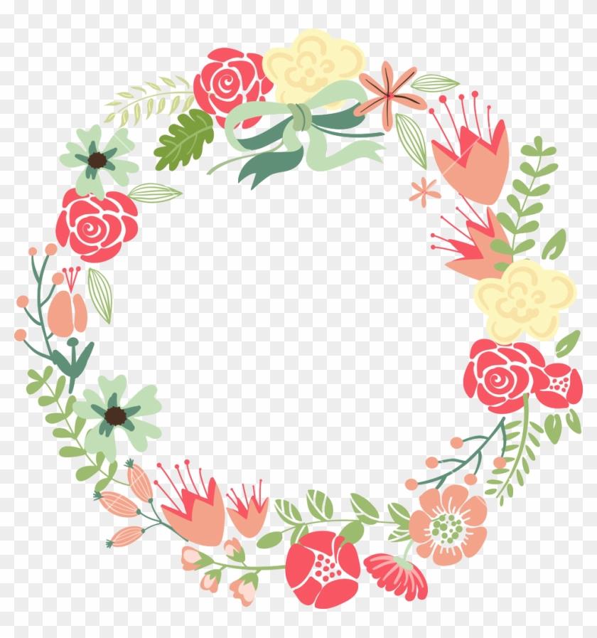 Floral Frame Png Images Transparent Free Download - Circle Floral Frame Png #291012