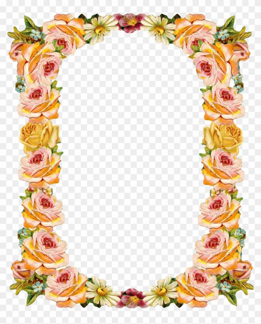 Peach Clipart Frame - Shradhanjali Photo Frames Online - Free ...
