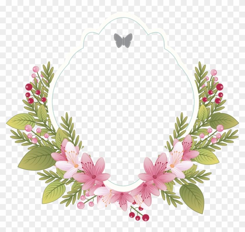 Flower Vintage Clothing Picture Frame Wedding Invitation Flower