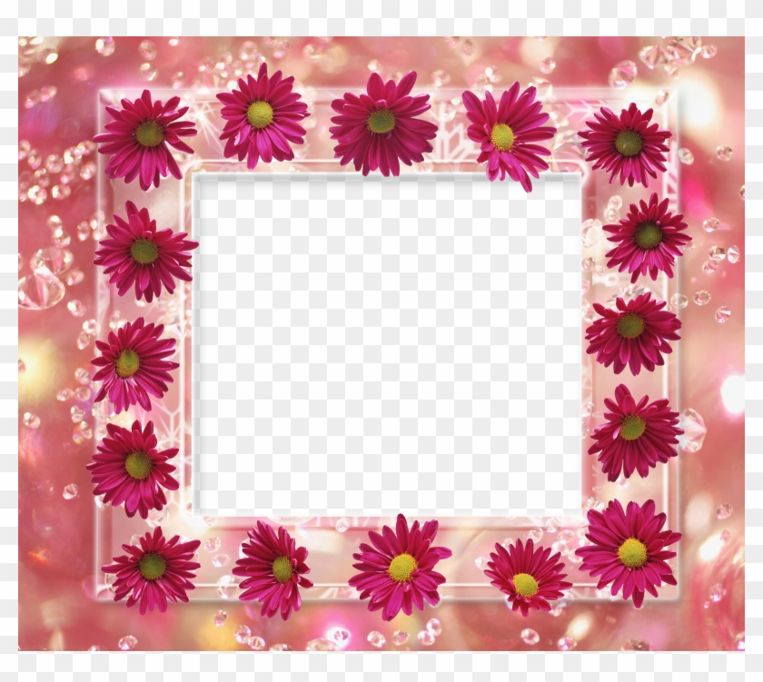 Flower Frame Pack - Happy Birthday Frames For Photoshop - Free ...
