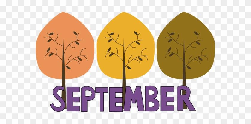 Word Clipart September - Fall September Clip Art #291057