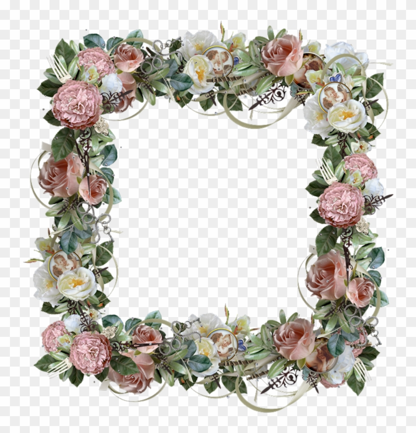 Flower Frame - Picture Frame #291060