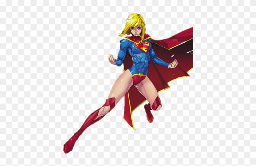 New 52 Supergirl By Mayantimegod - Supergirl New 52 Png #291084