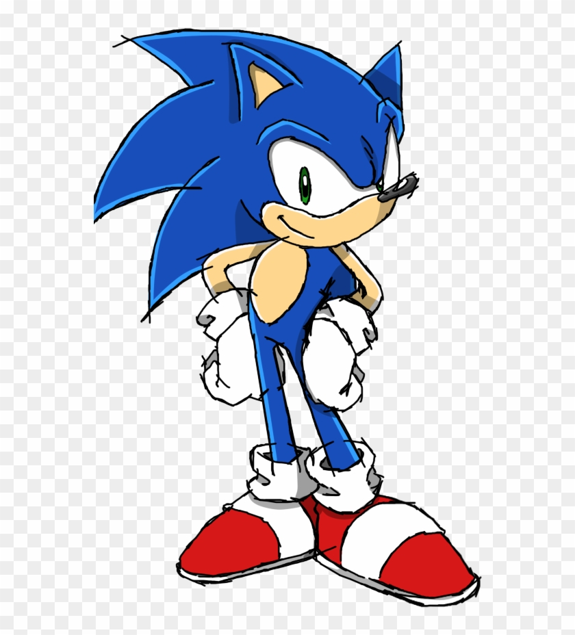 Sonic The Hedgehog Clipart Channel - Sonic The Hedgehog Cartoon #291122