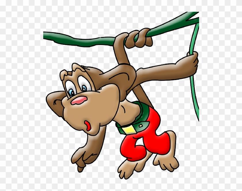 Funny Baby Monkeys Clip Art Images - Cartoon #291149