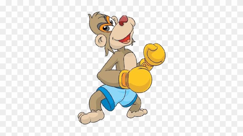Cartoon Baby Monkey - Cartoon #291153