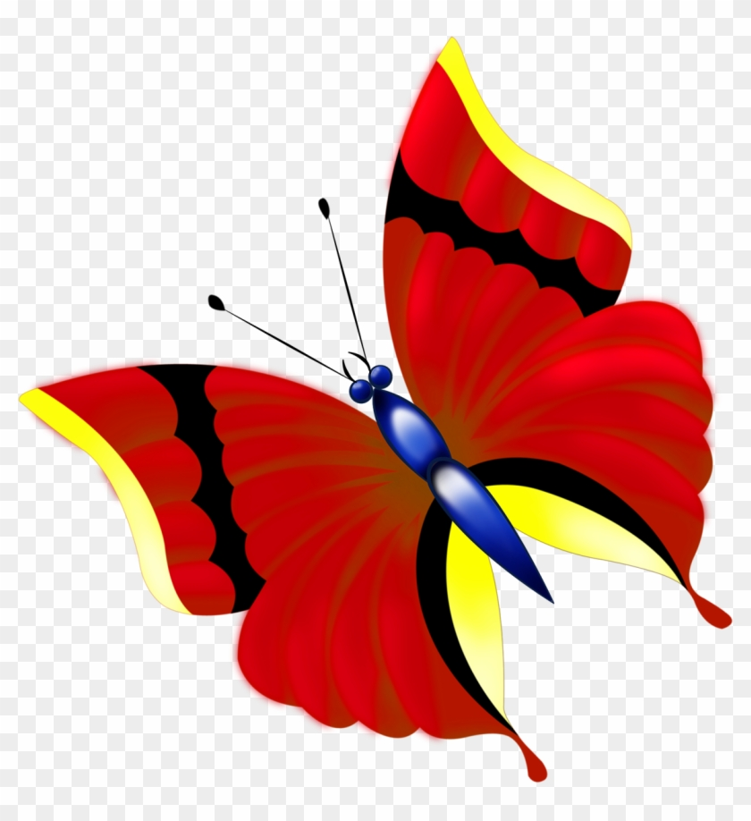 Butterfly Paper Drawing Clip Art - Butterfly Paper Drawing Clip Art #291191