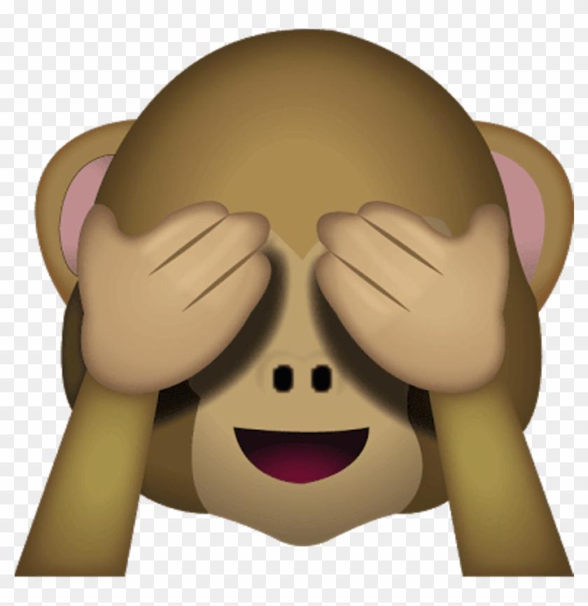 Download See No Evil Monkey Emoji - See No Evil Monkey Emoji #291255