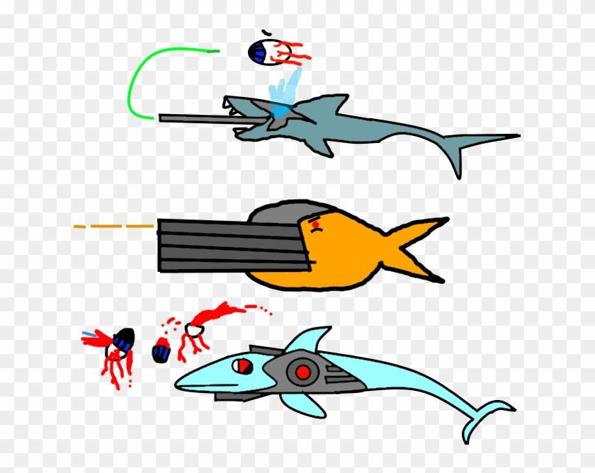 Mini Shark - Mega Shark Terraria #291294