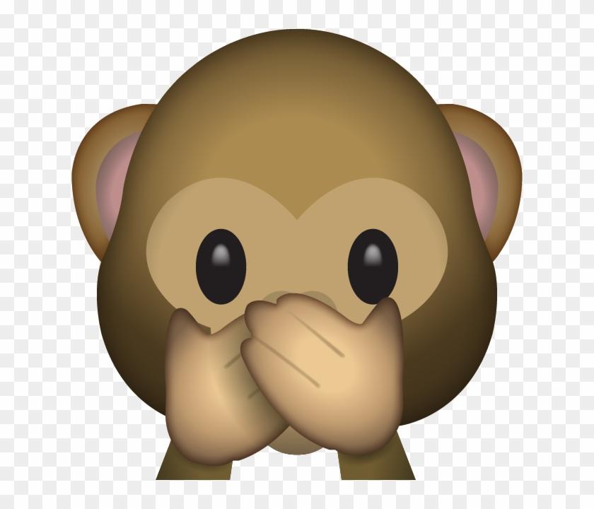 Download Speak No Evil Monkey Emoji Speak No Evil Monkey Emoji Gorgeous Monkey Covering Eyes Emoji Pillow