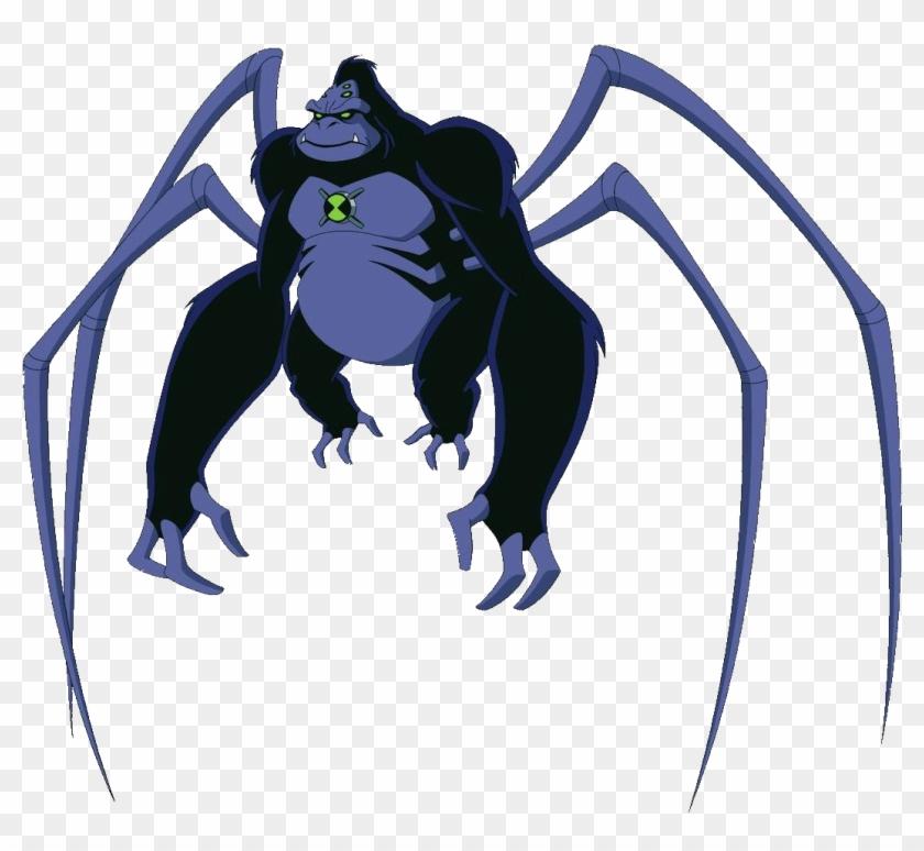 Spider Monkey Clipart Real - Spider Monkey Ben 10 #291318