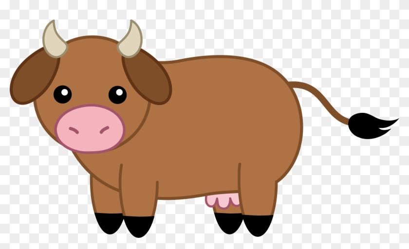 Cow - Clipart - Brown Cow Clipart #291331