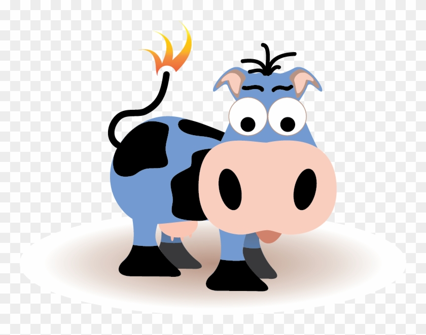 Join Us For Monthly Training At Blue Cow Hq - Blue Cow Cartoon #291345