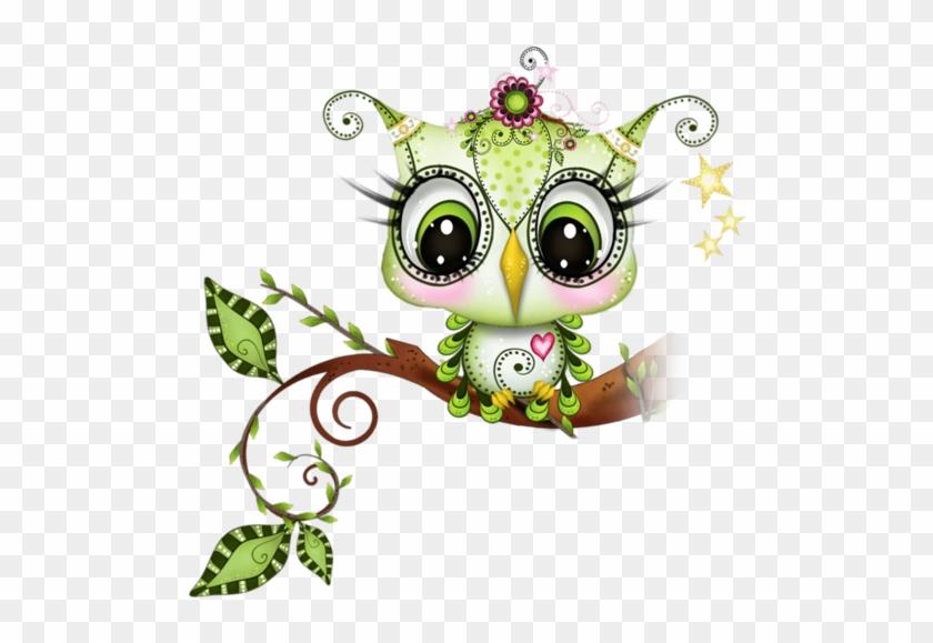 Bieennnvenueee Cheezzz Zéézééétee ♥ - Cute Owls New Cartoons By Inga Paltser #291351