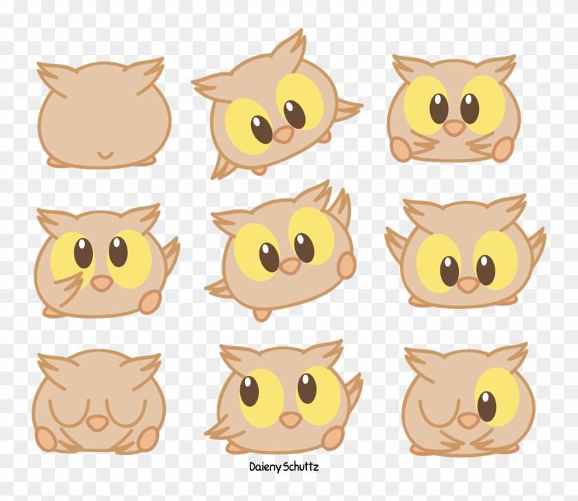 Drawn Owlet Chibi - Chibi Owl Drawing #291356