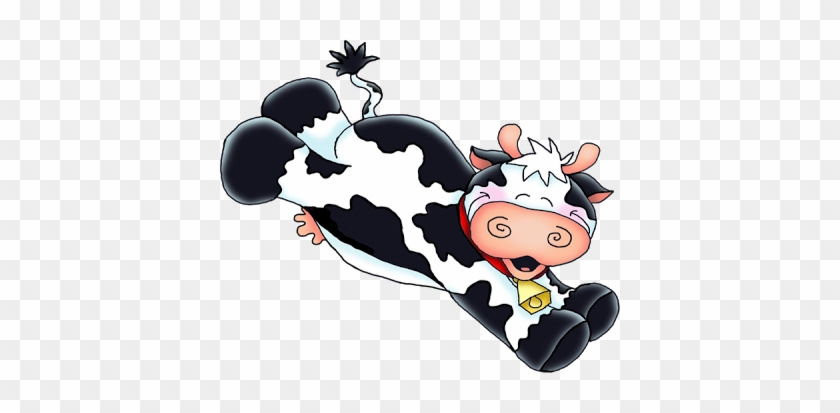 Cardmaking - Jumping Cow Clip Art #291357
