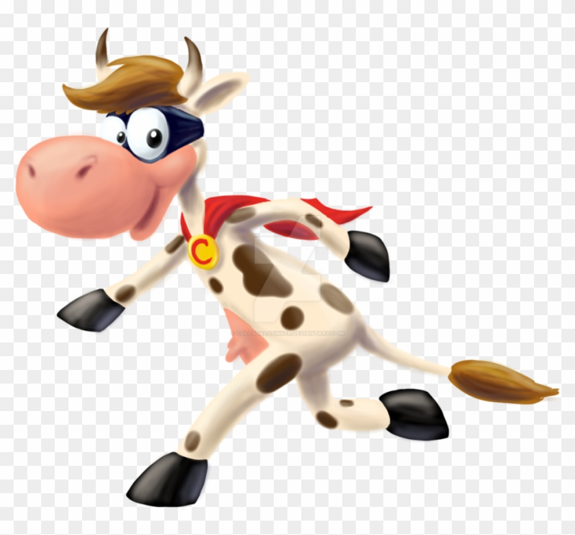 Super Cow By Colossalstinker - Supercow Png #291362