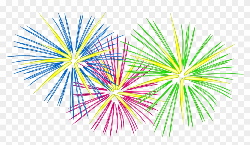 Fireworks Clipart Cliparts - Picsart Png Happy New Year #291375