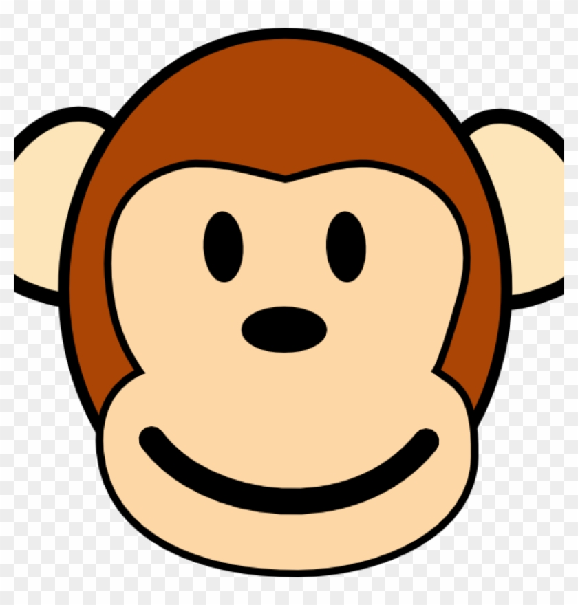 Monkey Face Drawing Cute Ba Cartoon Monkey Drawings Monkey Clip Art Free Transparent Png Clipart Images Download