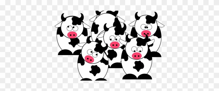 Cow Herd - Cartoon #291382